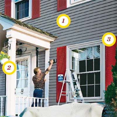 Pick Your Sheen when learning all about exterior paint