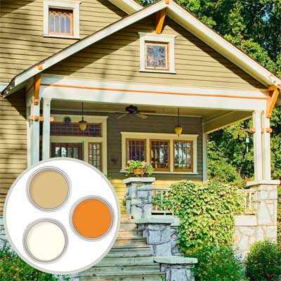 Bungalow Historic Color Palette when learning all about exterior paint