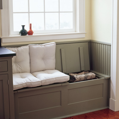 How To Build A Window Seat With Storage Plans DIY Free Download ...