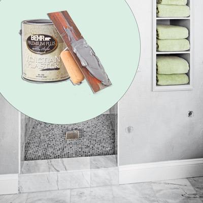 Behr trowel-on Venetian plaster