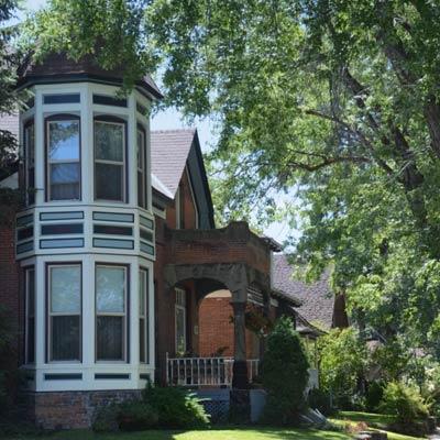Baker City, Oregon this old house best neighborhood 2012