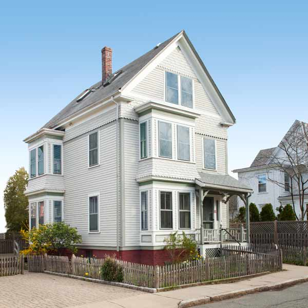 to go picking the perfect exterior paint colors this old house