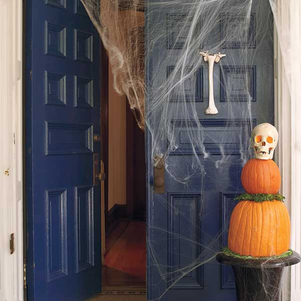 Halloween skill builder for how to make fake bone door knocker