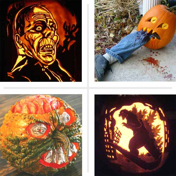 pumpkin carving contest monster and villain entries