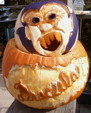 pumpkin carving contest dracula