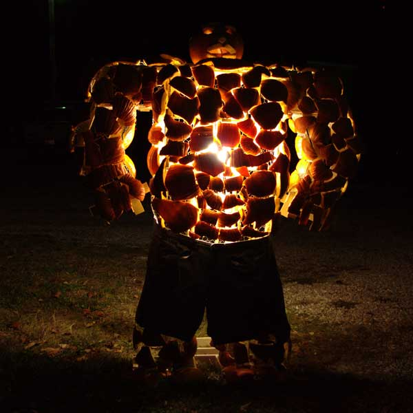 Fantastic Four's The Thing from the 2012 this old house Pumpkin-Carving Contest Winners gallery
