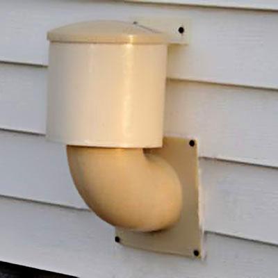 exterior dryer vent
