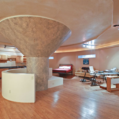 Inside the Silo from world's wildest houses gallery nine