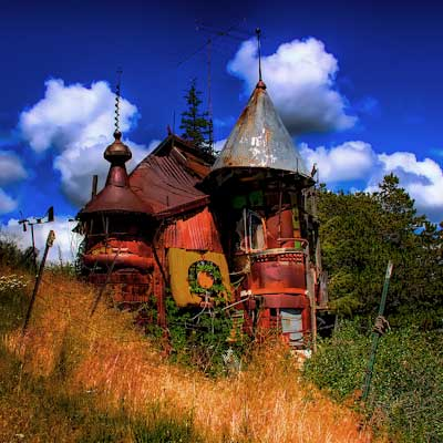 The Junk Castle from world's wildest houses gallery nine
