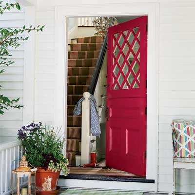 raspberry front door personalized with paint, fast fixes