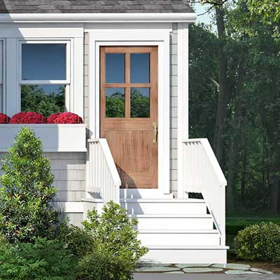 photoshop redo Side Entry for Perking up a Plain Cape Cod