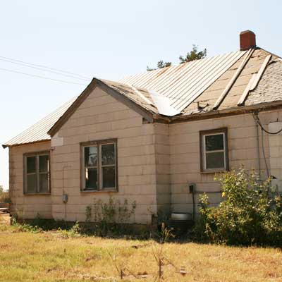 Before salvaged farmhouse for scary to spectacular remodels