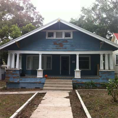 Before: 1925 Elsmore for scary to spectacular remodels