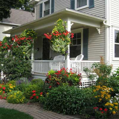 After: Gardens Increase Curb Appeal for scary to spectacular remodels 