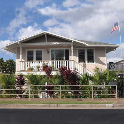 After: Hawaiian House Built by Love for scary to spectacular remodels