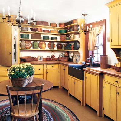 Create a Shaker-Style Kitchen | Create a Shaker-Style Kitchen ...