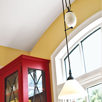 retro pulley light pendant