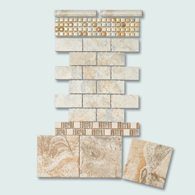 Daltile Atmospheres line for The Home Depot design your own backsplash tiles