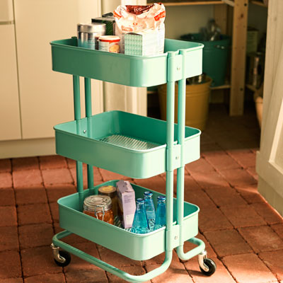 IKEA Raskog retro kitchen cart