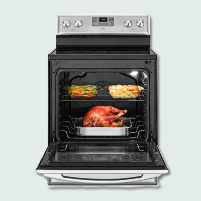 Maytag oven with Aqualift