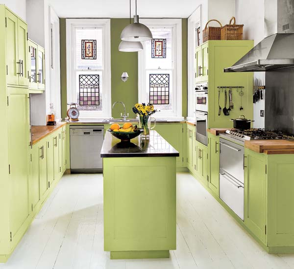 Palettes with personality five no fail palettes for for Painted kitchen ideas colors