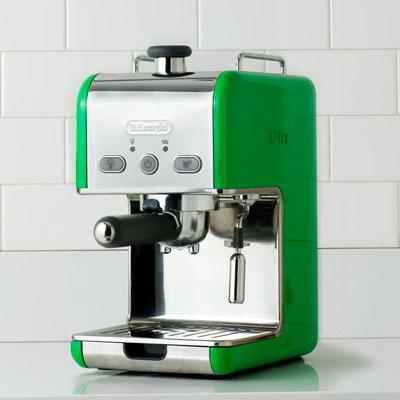 de longhi kelly green espresso shot maker