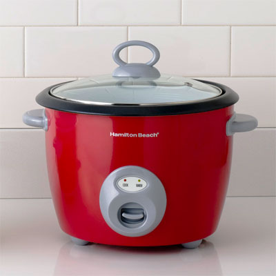 Hamilton beach crimson rice cooker