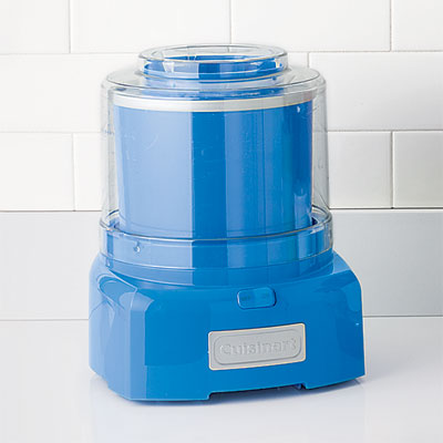 Cuisinart indigo ice-cream maker