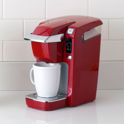 Keurig cherry red brewer