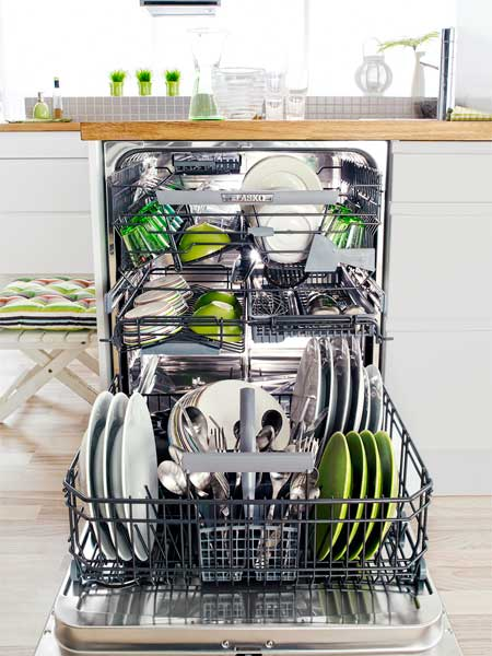 Top 100 Products 2012 kitchen four-tier dishwasher by Asko