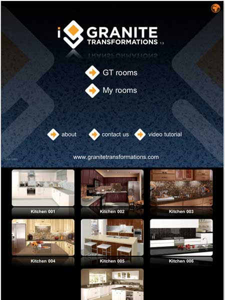 Top 100 Products 2012 kitchen iGranite mobile app