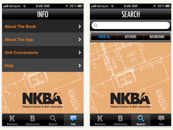 Top 100 Products 2012 bath mobile app NKBA Kitchen [AMP] Bathroom Planning Guidelines