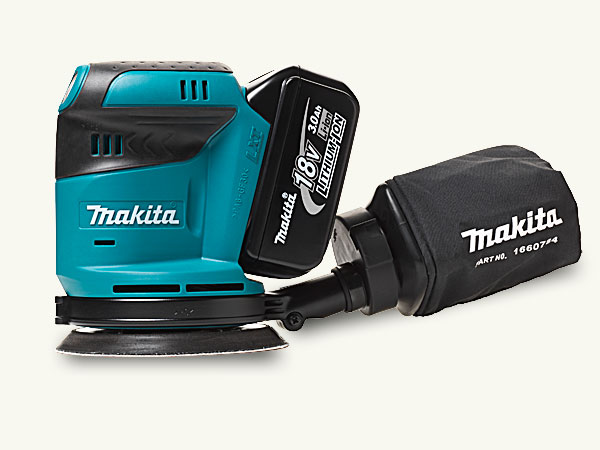 Top 100 Products 2012 tools cordless random orbit sander by Makita