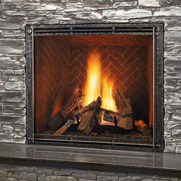Top 100 Products 2012 tech gas fireplace by Heat [AMP] glo