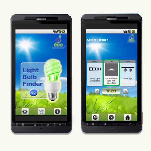 Top 100 Products 2012 tech mobile app lightbulb finder