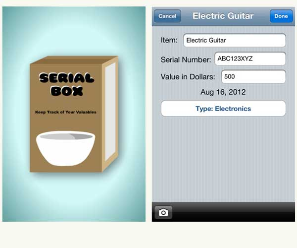 Top 100 Products 2012 tech mobile app serial finder
