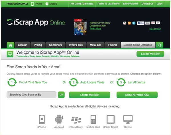 Top 100 Products 2012 Building Products iScrap App
