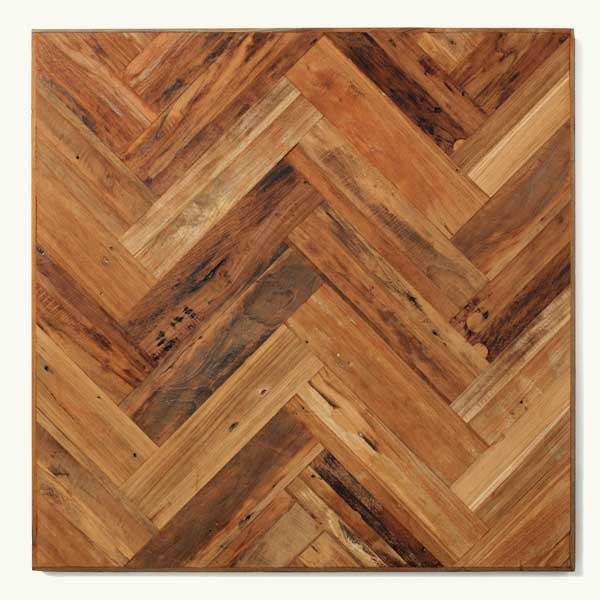 Top 100 Products 2012 Natural Patina Herringbone Teak Flooring, By Indo Teak Design