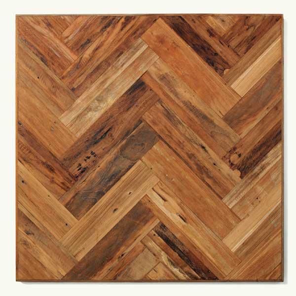 Top 100 Products 2012 Natural Patina Herringbone Teak Flooring, By Indo Teak Design