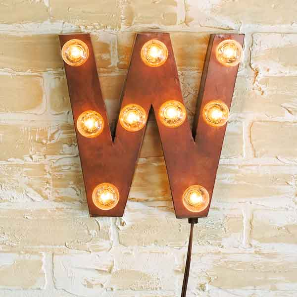 Top 100 Products 2012 Vintage Style Sign Letters, by Shades of Light