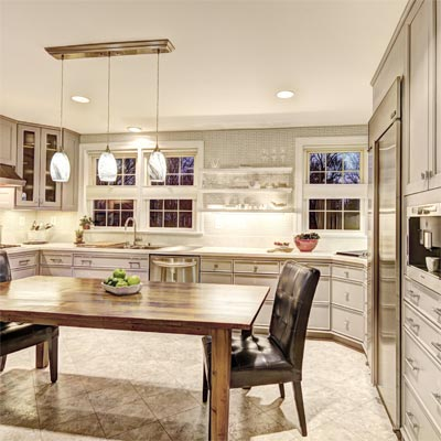 Clean and Contemporary Look: After image for TOH Reader Remodel Kitchen Winner 2012