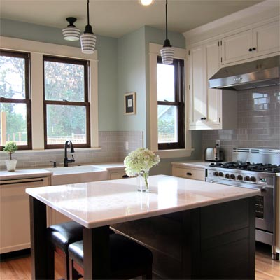 Paying Homage to the 1909 House: After image for TOH Reader Remodel Kitchen 2012