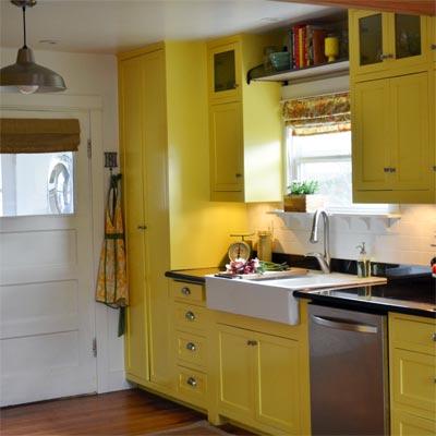 Original Vintage Charm: After image for TOH Reader Remodel Kitchen 2012