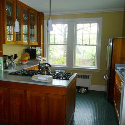 A Big Kitchen for a Growing Family: Before image for TOH Reader Remodel Kitchen 2012