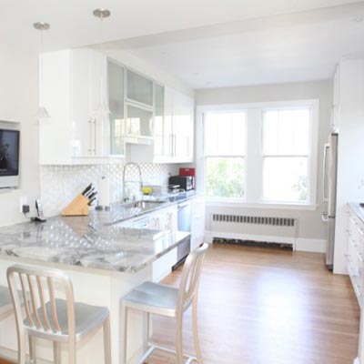 A Big Kitchen for a Growing Family: After image for TOH Reader Remodel Kitchen 2012