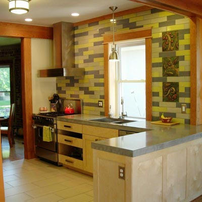 Kitchen Combines the Old and New: After image for TOH Reader Remodel Kitchen 2012