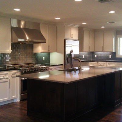 More Spacious and Modern Kitchen: After image for TOH Reader Remodel Kitchen 2012