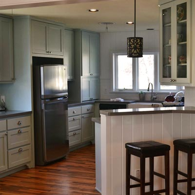 Big-Kitchen Feel in a Small Space: After image for TOH Reader Remodel Kitchen 2012