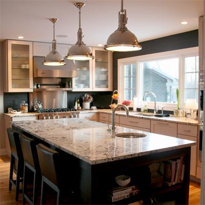 Creating One Great Room: After image for TOH Reader Remodel Kitchen 2012