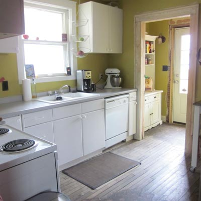 Classic Space for Classic Home: Before image for TOH Reader Remodel Kitchen 2012